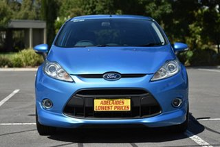 2010 Ford Fiesta WS Zetec Blue 5 Speed Manual Hatchback.