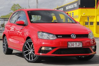 2017 Volkswagen Polo 6R MY17 GTI DSG Flash Red 7 Speed Sports Automatic Dual Clutch Hatchback.