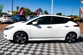 2020 Nissan Leaf ZE1 Arctic White 1 Speed Automatic Hatchback