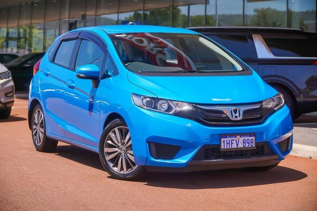 Used Honda Jazz GF MY16 VTi Gosnells, 2016 Honda Jazz GF MY16 VTi Blue 5 Speed Manual Hatchback