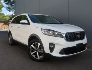 2019 Kia Sorento UM MY20 SLi AWD White 8 Speed Sports Automatic Wagon.