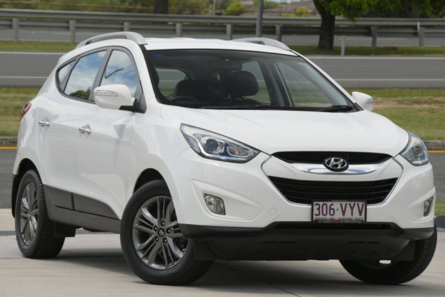 Used Hyundai ix35 LM3 MY14 Elite AWD North Lakes, 2014 Hyundai ix35 LM3 MY14 Elite AWD White 6 Speed Sports Automatic Wagon