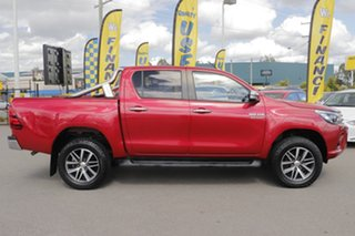 2016 Toyota Hilux GUN126R SR5 Double Cab Olympia Red 6 Speed Sports Automatic Utility