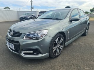 2014 Holden Commodore VF MY14 SV6 Storm Grey 6 Speed Sports Automatic Sedan.