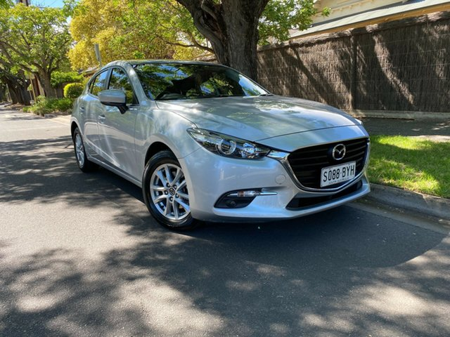 Pre-Owned Mazda 3 BN5478 Maxx SKYACTIV-Drive Sport Hawthorn, 2018 Mazda 3 BN5478 Maxx SKYACTIV-Drive Sport Silver 6 Speed Sports Automatic Hatchback