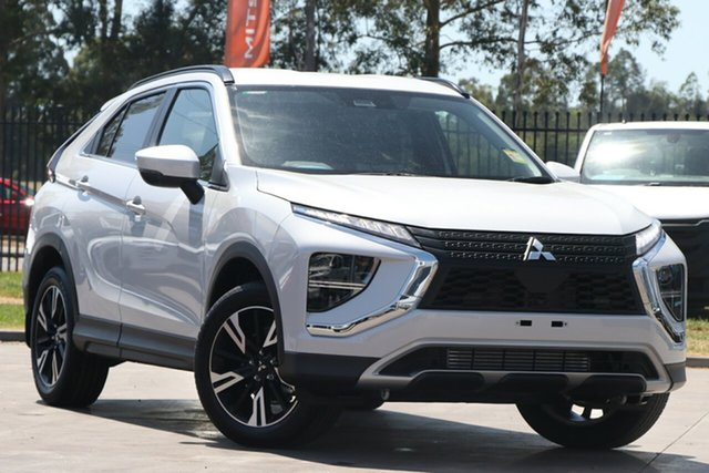 New Mitsubishi Eclipse Cross YB MY21 LS 2WD Mount Gravatt, 2020 Mitsubishi Eclipse Cross YB MY21 LS 2WD White Diamond 8 Speed Constant Variable Wagon