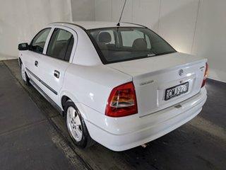 2002 Holden Astra TS CD White 4 Speed Automatic Sedan