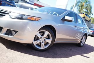 2010 Honda Accord 10 Euro Silver 5 Speed Automatic Sedan.