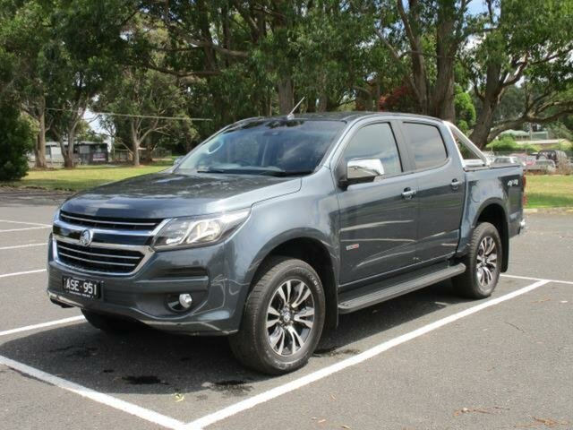 Used Holden Colorado Timboon, 2019 Holden Colorado RG Turbo LTZ 4x4 Dark Shadow Automatic CREWCAB UTILITY