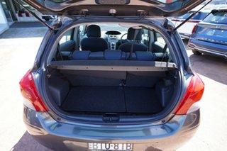 2010 Toyota Yaris NCP90R 08 Upgrade YR Grey 4 Speed Automatic Hatchback