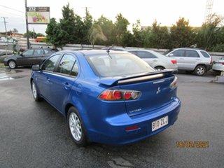 2011 Mitsubishi Lancer CJ MY11 SX Blue 5 Speed Manual Sedan
