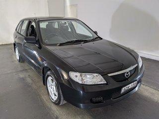 2003 Mazda 323 BJ II-J48 Astina Black 5 Speed Manual Hatchback.