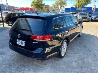 2015 Volkswagen Passat 3C (B8) MY16 132TSI DSG Comfortline Black 7 Speed