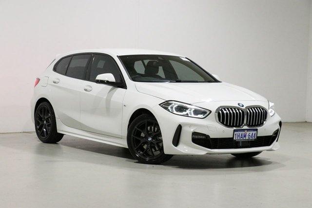Used BMW 118i F40 M Sport Bentley, 2020 BMW 118i F40 M Sport White 7 Speed Auto Dual Clutch Hatchback