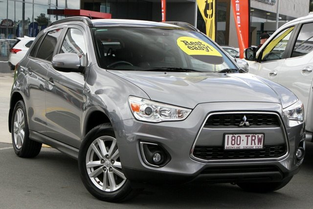 Used Mitsubishi ASX XB MY14 Aspire 2WD Aspley, 2014 Mitsubishi ASX XB MY14 Aspire 2WD Grey 6 Speed Constant Variable Wagon