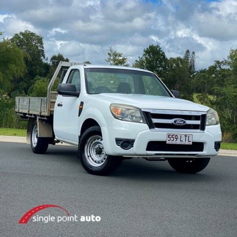 Used Ford Ranger PK XL Chevallum, 2009 Ford Ranger PK XL White 5 Speed Manual Utility