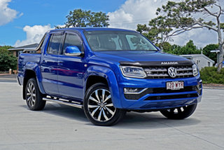 2016 Volkswagen Amarok 2H MY17 TDI550 4MOTION Perm Ultimate Ravenna Bl 8 Speed Automatic Utility.