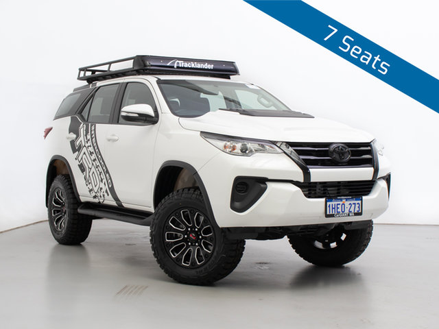 Used Toyota Fortuner GUN156R GXL, 2017 Toyota Fortuner GUN156R GXL White 6 Speed Automatic Wagon