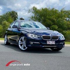 2012 BMW 320d F30 MY0812 320d Blue 8 Speed Sports Automatic Sedan.