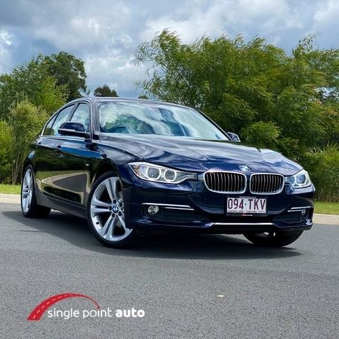 Used BMW 320d F30 MY0812 320d Chevallum, 2012 BMW 320d F30 MY0812 320d Blue 8 Speed Sports Automatic Sedan