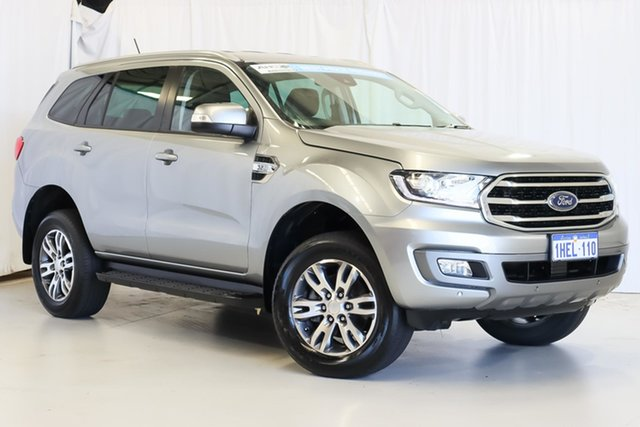 Used Ford Everest UA II 2019.00MY Trend Wangara, 2019 Ford Everest UA II 2019.00MY Trend Silver 6 Speed Sports Automatic SUV