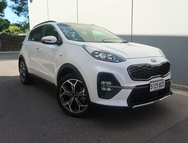 Used Kia Sportage QL MY19 GT-Line AWD Reynella, 2018 Kia Sportage QL MY19 GT-Line AWD White 6 Speed Sports Automatic Wagon