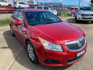 2012 Holden Cruze JH Series II MY12 Equipe Red 6 Speed Sports Automatic Sedan.