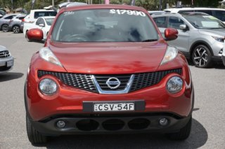 2014 Nissan Juke F15 MY14 ST-S 2WD Red 6 Speed Manual Hatchback.