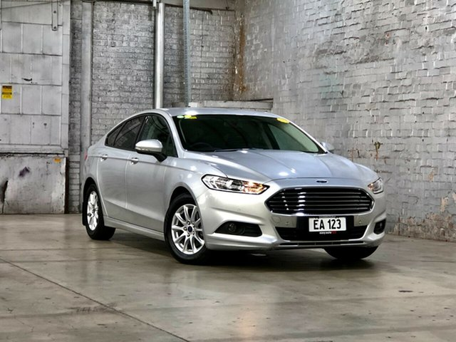 Used Ford Mondeo MD Ambiente Mile End South, 2015 Ford Mondeo MD Ambiente Silver 6 Speed Sports Automatic Dual Clutch Hatchback