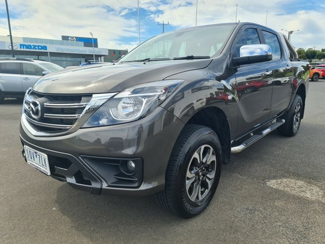 Used Mazda BT-50 UR0YG1 XTR 4x2 Hi-Rider Warrnambool East, 2019 Mazda BT-50 UR0YG1 XTR 4x2 Hi-Rider Titanium 6 Speed Sports Automatic Utility