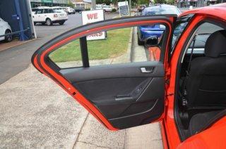 2012 Ford Falcon FG MK2 XR6 Red 6 Speed Auto Seq Sportshift Sedan