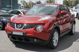 2014 Nissan Juke F15 MY14 ST-S 2WD Red 6 Speed Manual Hatchback