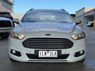 2017 Ford Mondeo MD 2017.50MY Ambiente White 6 Speed Sports Automatic Dual Clutch Wagon.