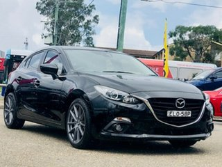 2016 Mazda 3 BN5438 SP25 SKYACTIV-Drive Black 6 Speed Sports Automatic Hatchback
