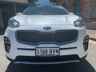 2018 Kia Sportage QL MY18 GT-Line AWD White/two Tone Leather 6 Speed Sports Automatic Wagon