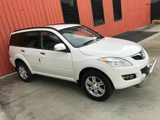 2012 Great Wall X200 K2 MY12 White 5 Speed Automatic Wagon