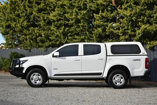 2018 Holden Colorado RG MY19 LS Pickup Crew Cab White 6 Speed Sports Automatic Utility