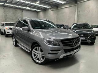 2013 Mercedes-Benz M-Class W166 ML250 BlueTEC 7G-Tronic + Silver 7 Speed Sports Automatic Wagon.