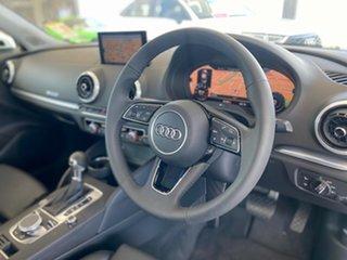 2020 Audi A3 8V MY20 40 TFSI S Tronic S Line Plus White 7 Speed Sports Automatic Dual Clutch Sedan