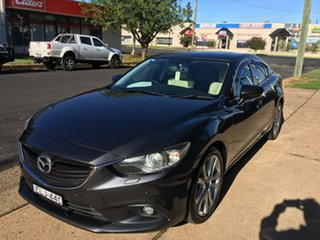 2013 Mazda 6 GJ GT Grey Sports Automatic.