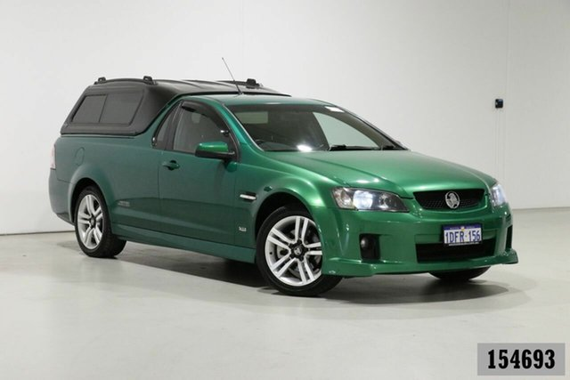 Used Holden Commodore VE SS Bentley, 2008 Holden Commodore VE SS Green 6 Speed Manual Utility