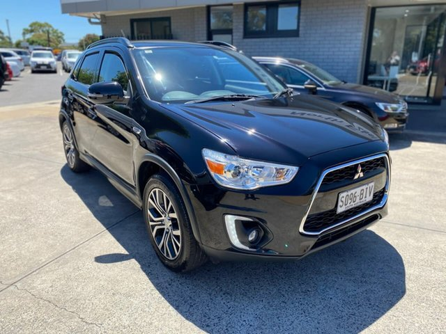 Used Mitsubishi ASX XB MY15.5 XLS 2WD Hillcrest, 2015 Mitsubishi ASX XB MY15.5 XLS 2WD Black 6 Speed Constant Variable Wagon