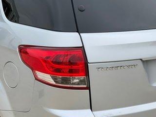 2013 Ford Territory SZ Titanium Seq Sport Shift Silver 6 Speed Sports Automatic Wagon