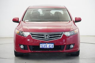 2009 Honda Accord Euro CU MY10 Luxury Navi Milano Red 5 Speed Automatic Sedan.