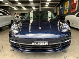 2017 Porsche Panamera 971 4 E-Hybrid Blue Sports Automatic Dual Clutch Sedan.