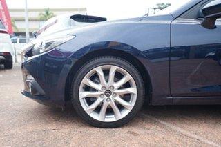2015 Mazda 3 BM SP25 GT Blue 6 Speed Automatic Sedan.