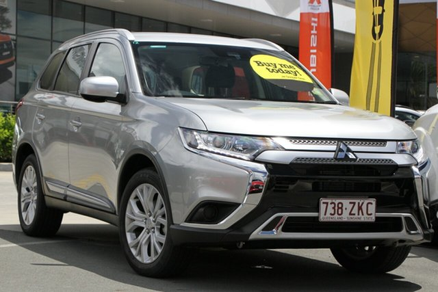 Used Mitsubishi Outlander ZL MY20 ES 2WD Aspley, 2019 Mitsubishi Outlander ZL MY20 ES 2WD Silver 6 Speed Constant Variable Wagon