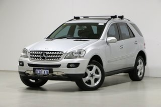 2007 Mercedes-Benz ML350 W164 07 Upgrade Luxury (4x4) Silver 7 Speed Automatic G-Tronic Wagon.
