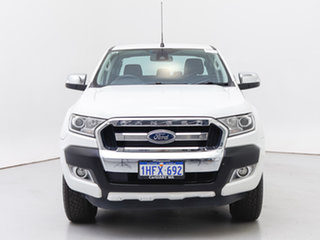 2016 Ford Ranger PX MkII XLT 3.2 (4x4) White 6 Speed Automatic Double Cab Pick Up.