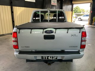 2008 Ford Ranger PJ 07 Upgrade XL (4x2) Grey 5 Speed Automatic Dual Cab Pick-up